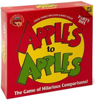 Calendar how to play apples to apples game the